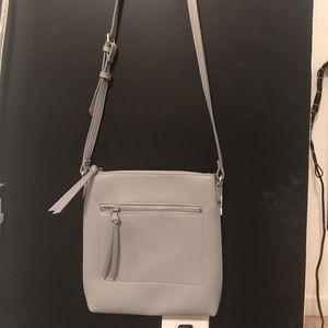 Pale blueish- grey crossbody purse!